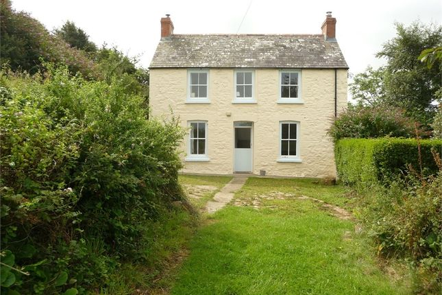 Thumbnail Detached house for sale in Haulwen, Dinas Cross, Newport, Pembrokeshire