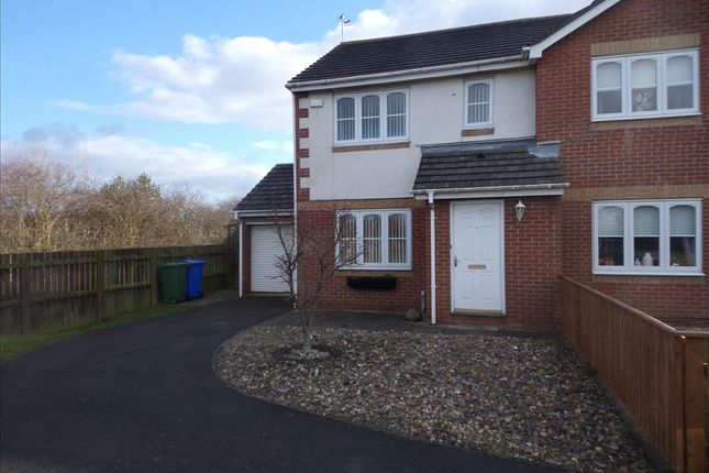 Thumbnail Semi-detached house to rent in Inglewood Close, Blyth
