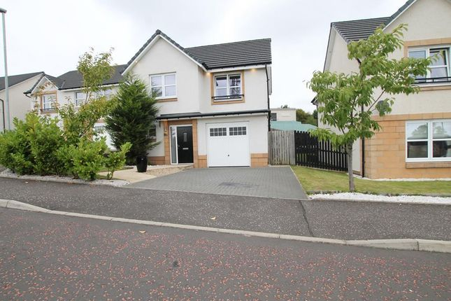 Thumbnail Detached house for sale in Mossbeath Gardens, Uddingston, Glasgow