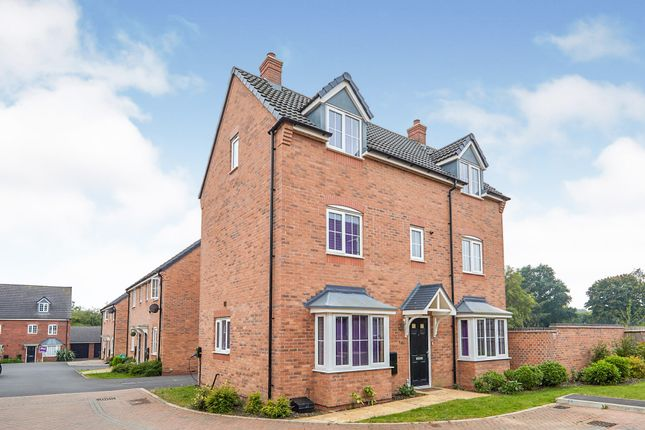 Thumbnail Detached house for sale in Brent Close Harlow Fields Derby, Mickleover, Derby