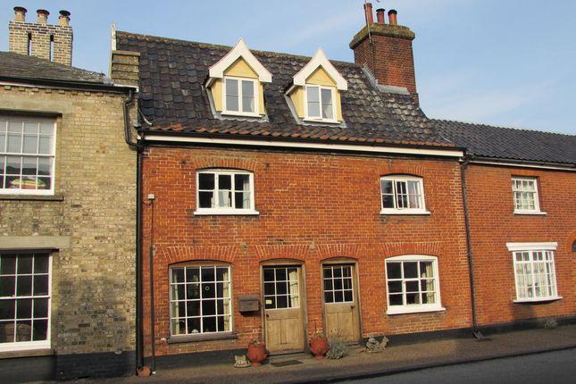 Thumbnail Terraced house for sale in King Street, New Buckenham, Norwich