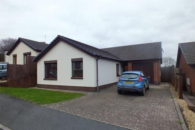 Thumbnail Detached bungalow for sale in Charles Thomas Avenue, Pembroke Dock, Pembrokeshire