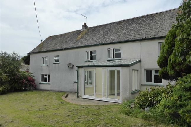 Thumbnail Detached house to rent in Marhamchurch, Bude, Cornwall