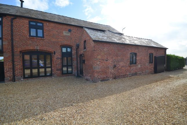 Thumbnail Barn conversion to rent in Poplar Hall Lane, Chorlton-By-Backford, Chester