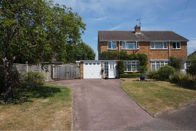 Thumbnail Semi-detached house for sale in Guild Road, Aston Cantlow