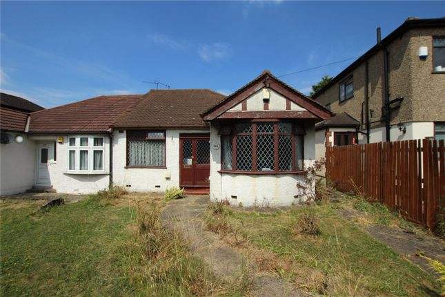 Thumbnail Bungalow for sale in East Rochester Way, Sidcup, Kent