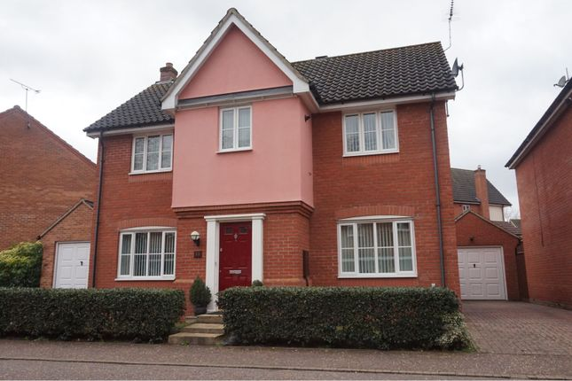 Thumbnail Detached house for sale in Comfrey Way, Thetford