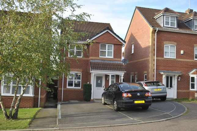 Thumbnail Detached house to rent in Willow Herb Close, Oadby