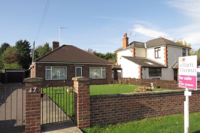 Thumbnail Detached bungalow for sale in Kyme Road, Heckington, Sleaford