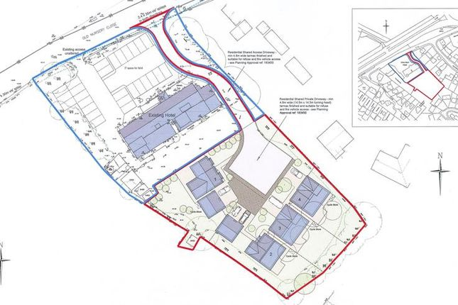 Thumbnail Land for sale in Orles Barn Development Site, Old Nursery Close, Ross-On-Wye, Herefordshire