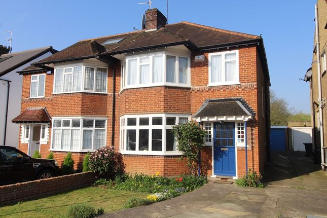 Thumbnail Semi-detached house for sale in The Birches, London