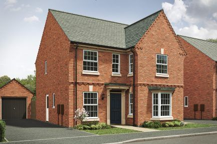 "Thumbnail Detached house for sale in ""The Bolsover"" at Nottingham Road, Melton Mowbray"