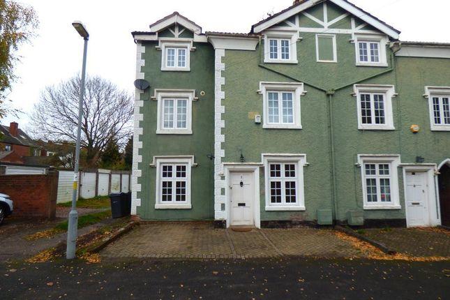 Thumbnail End terrace house for sale in Tibbets Lane, Harborne, Birmingham