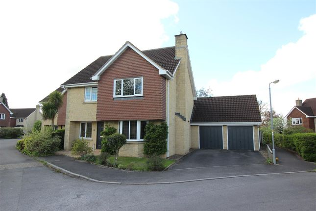 Thumbnail Detached house for sale in Sandes Close, Chippenham