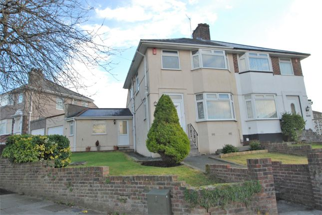 Thumbnail Semi-detached house to rent in Segrave Road, Plymouth