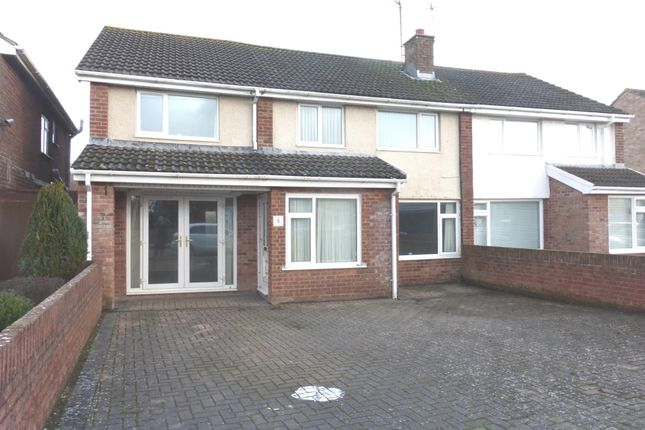 Thumbnail Semi-detached house for sale in Woodland Place, North Cornelly, Bridgend