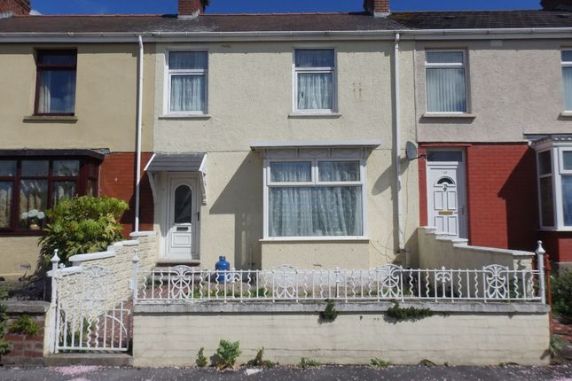 Thumbnail Terraced house to rent in Langland Road, Llanelli