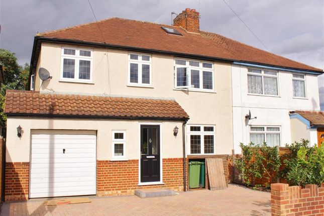 Thumbnail Semi-detached house for sale in Staines Road West, Ashford