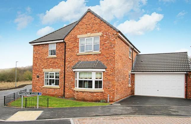 Thumbnail Detached house for sale in Spindle Drive, Wingerworth, Chesterfield, Derbyshire