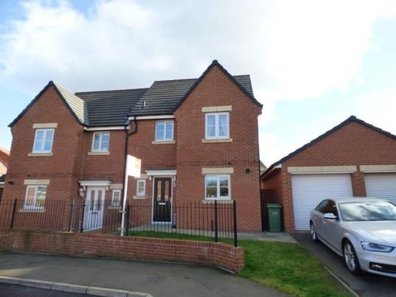 Thumbnail Semi-detached house for sale in Capheaton Way, Seaton Delaval, Whitley Bay, Northumberland
