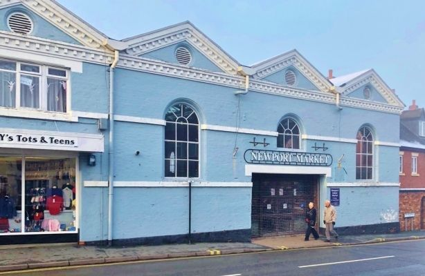 Thumbnail Retail premises to let in Former Food Hall, Newport Market Hall, Newport, Shropsihre