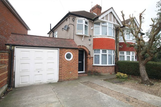 Thumbnail Semi-detached house for sale in Richmond Avenue, Bedfont, Feltham, Middlesex