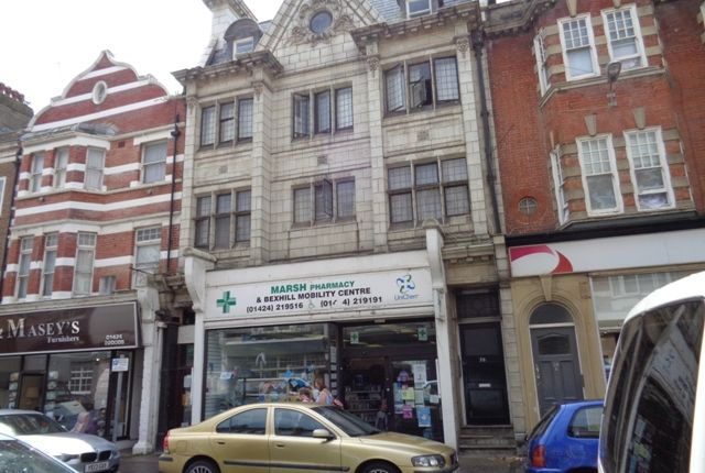 Thumbnail Flat to rent in St Leonards Road, Bexhill On Sea East Sussex