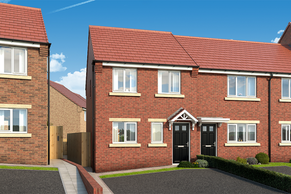 """Thumbnail Property for sale in """"The Hawthorn At The Garth, West Denton"""" at Dunblane Crescent, West Denton, Newcastle Upon Tyne"""