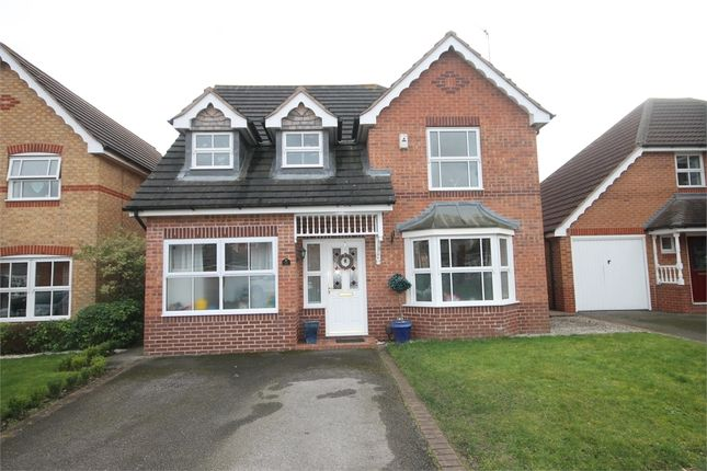 Thumbnail Detached house for sale in Naseby Avenue, Newark, Nottinghamshire.