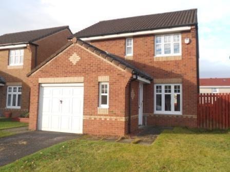 Thumbnail Detached house to rent in Castleknowe Gardens, Carluke