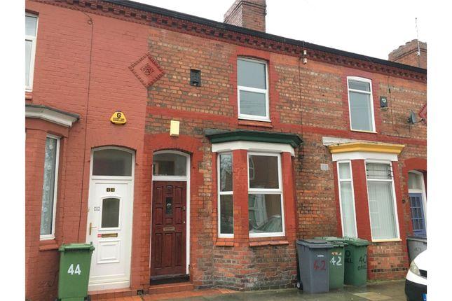 Thumbnail Terraced house to rent in Oriel Road, Birkenhead