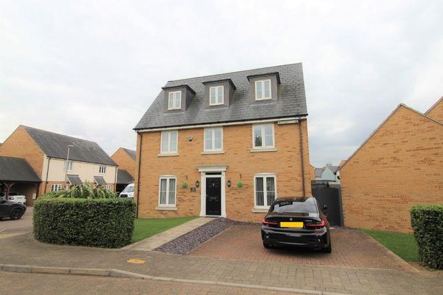 Thumbnail Detached house for sale in Trafalgar Drive, Brooklands, Milton Keynes