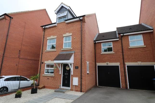 Thumbnail Link-detached house for sale in Tungstone Way, Market Harborough, Leicester, Leicestershire