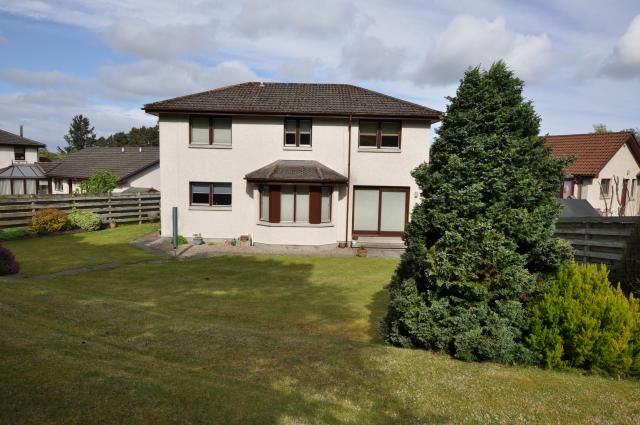 Thumbnail Detached house for sale in 35 Mannachie Rise, Forres