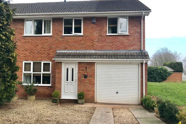 Thumbnail Semi-detached house for sale in Cornwallis Avenue, Worle, Weston-Super-Mare