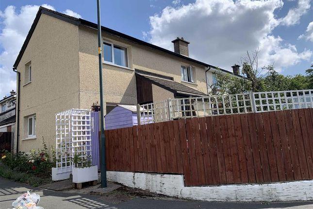 Thumbnail End terrace house for sale in Bro Teifi, Cardigan, Ceredigion