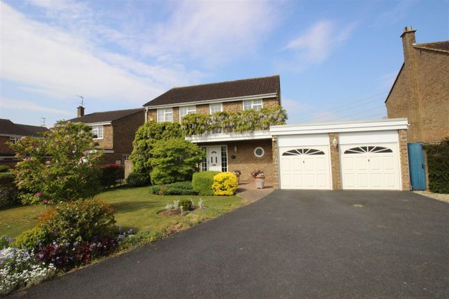 Thumbnail Detached house for sale in Wicks Close, Swindon