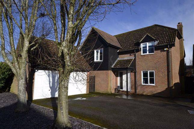 Detached house for sale in Peel Gardens, Kingsclere, Berkshire