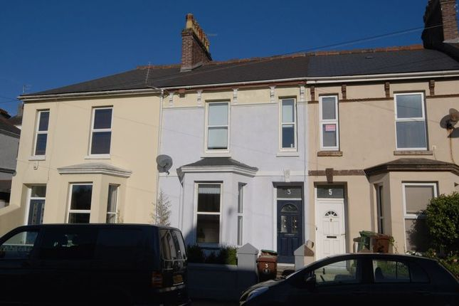 Thumbnail Terraced house for sale in Penlee Place, Mutley, Plymouth