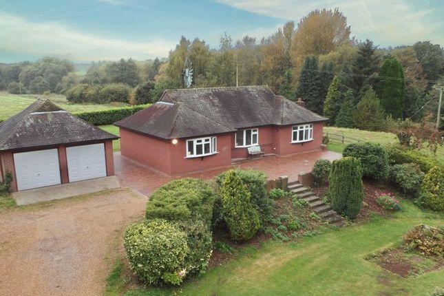 Thumbnail Detached bungalow for sale in Ellerton, Newport, Shropshire