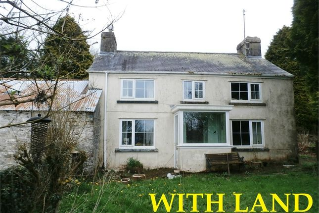 Thumbnail Detached house for sale in Pantglas, Porthyrhyd, Carmarthen
