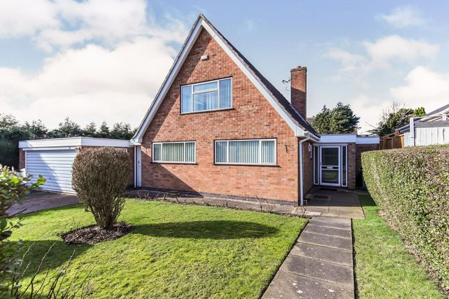 Thumbnail Bungalow for sale in Launde Road, Oadby, Leicester