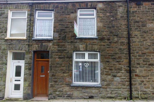 Thumbnail Terraced house for sale in Margaret Street, Tynewydd
