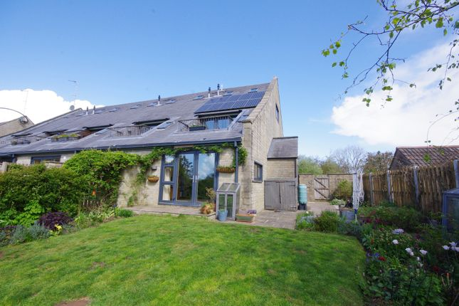 Thumbnail End terrace house for sale in Home Barns, High Street, Marshfield, Chippenham, Wiltshire