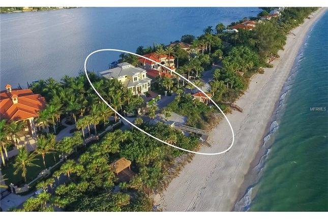 Thumbnail Property for sale in 1808 Casey Key Rd, Nokomis, Fl, 34275