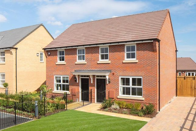 "Thumbnail Semi-detached house for sale in ""Archford"" at Southern Cross, Wixams, Bedford"