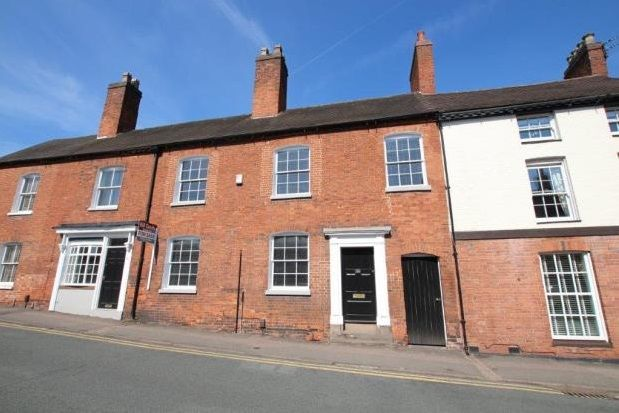 Thumbnail Terraced house to rent in Beacon Street, Lichfield