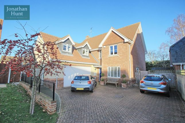 5 bed detached house for sale in Hammarsfield Close, Standon, Ware