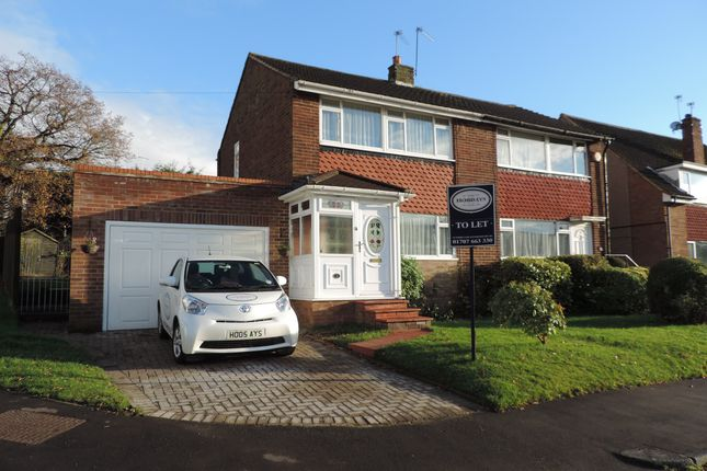 Thumbnail Semi-detached house to rent in Melrose Avenue, Potters Bar