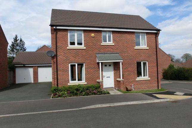 Thumbnail Detached house for sale in Morrey Close, Wythall, Birmingham